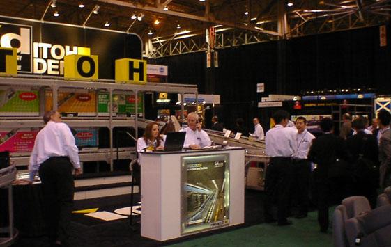 3月 『NA2006』(米国・クリーブランド)に出展しました。