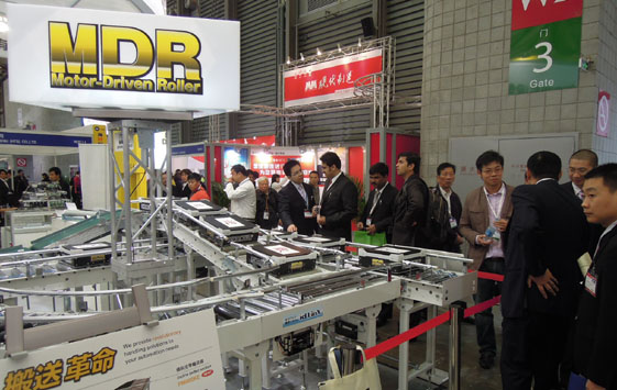 10月 CeMAT ASIA2011に出展しました