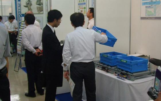9月 国際フロンティア産業メッセ2009(9月3日~4日)に<br />    出展しました。